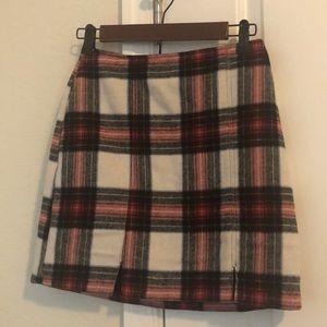 Plaid Hollister Mini skirt